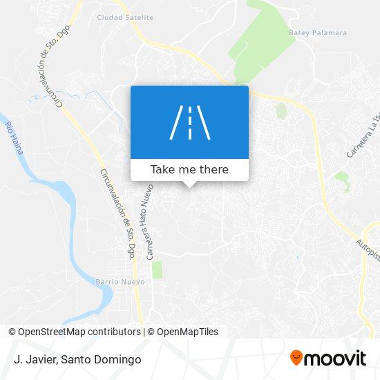 J. Javier map