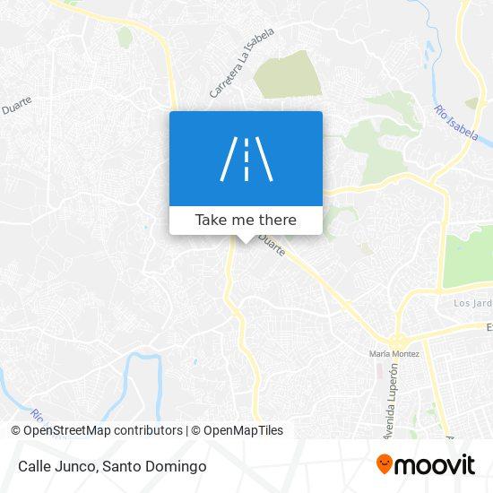 Calle Junco map