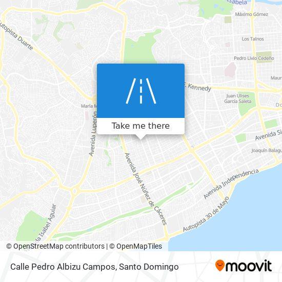Calle Pedro Albizu Campos map