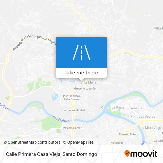 Calle Primera Casa Vieja map