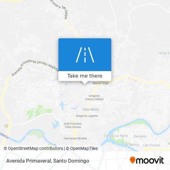 Avenida Primaveral map