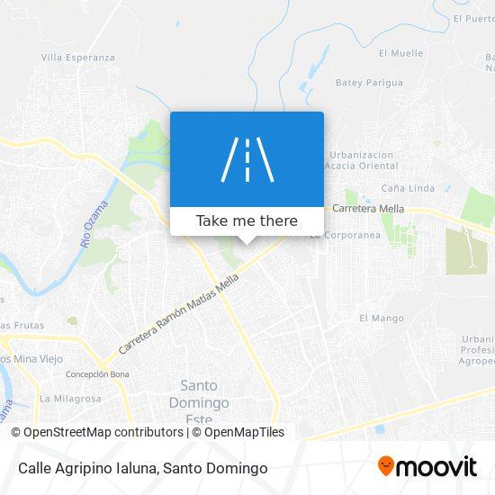 Calle Agripino Ialuna map