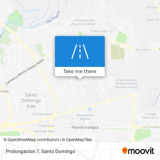 Prolongacion 7 map