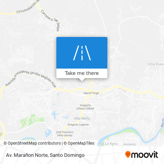 Av. Marañon Norte map