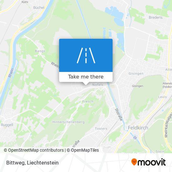 Bittweg map