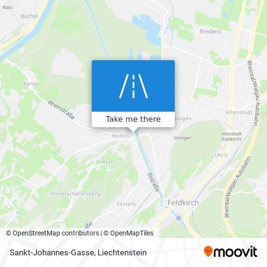 Sankt-Johannes-Gasse map