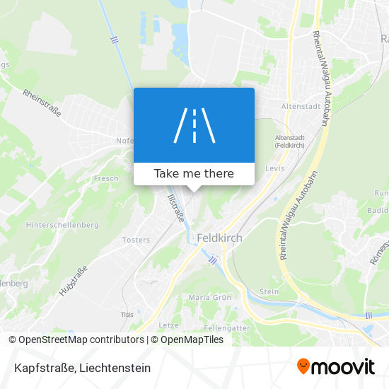 Kapfstraße map