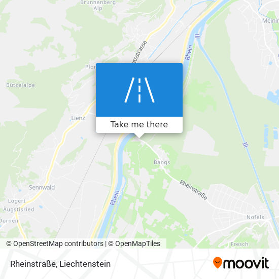 Rheinstraße map