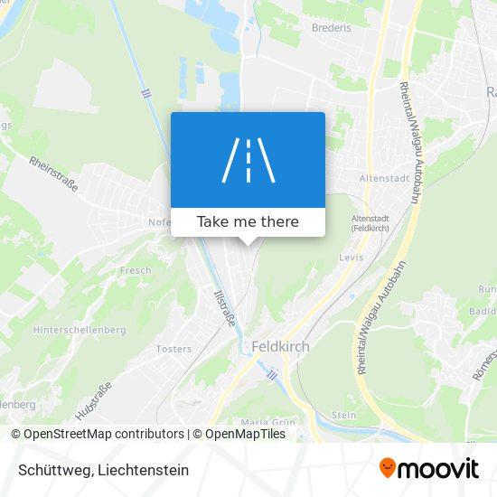 Schüttweg map