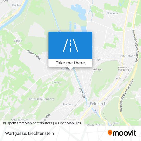 Wartgasse map