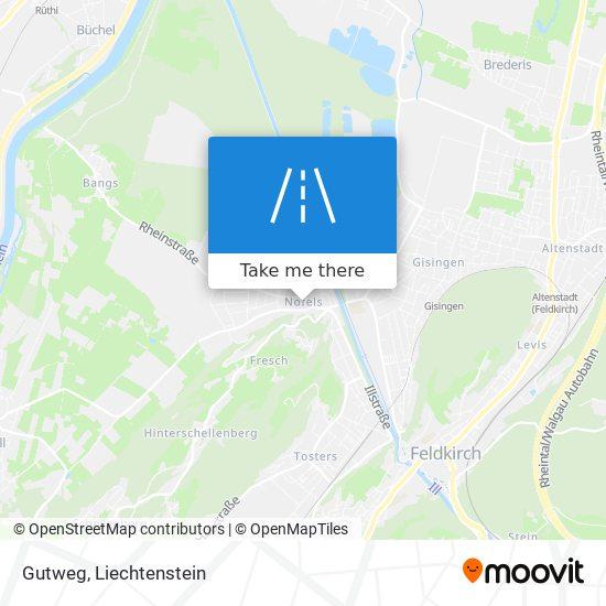 Gutweg map