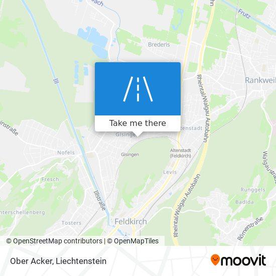 Ober Acker map