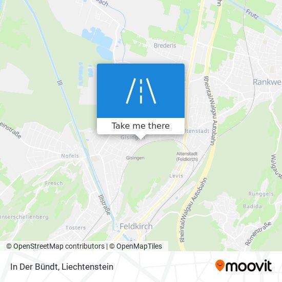 In Der Bündt map