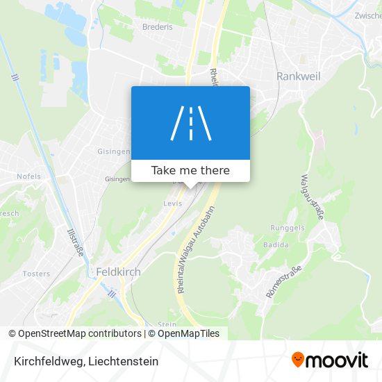 Kirchfeldweg map