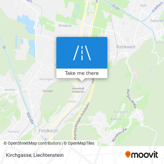 Kirchgasse map