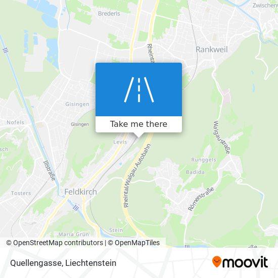 Quellengasse map
