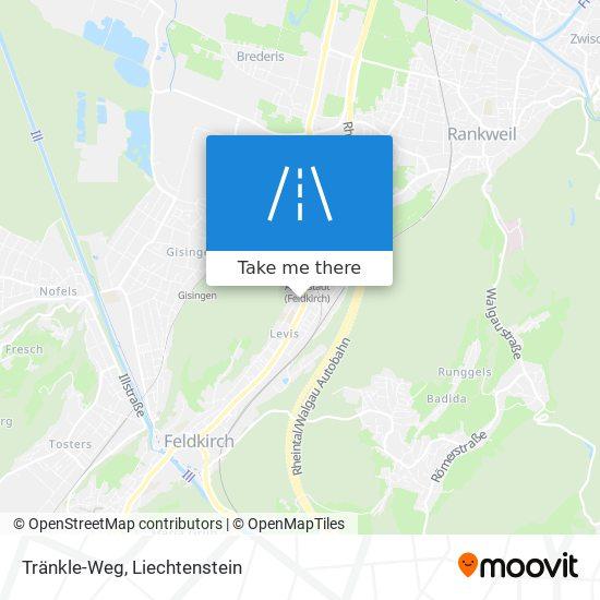 Tränkle-Weg map