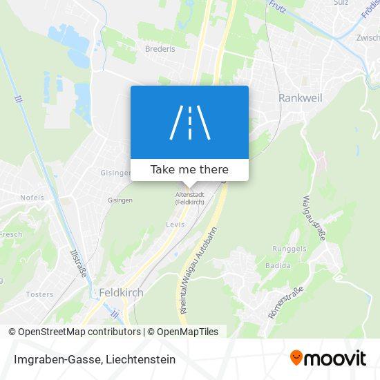 Imgraben-Gasse map