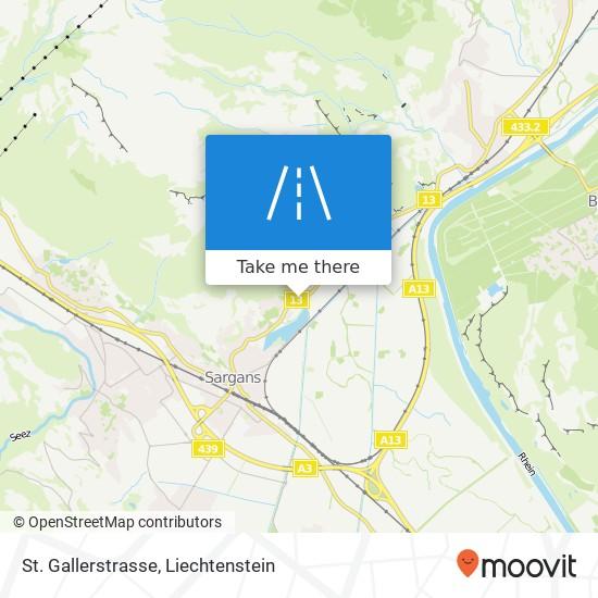 St. Gallerstrasse map
