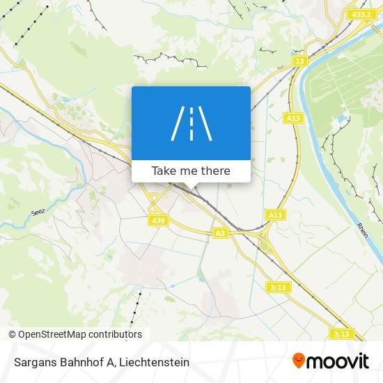 Sargans Bahnhof A map