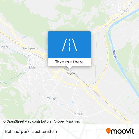 Bahnhofpark map