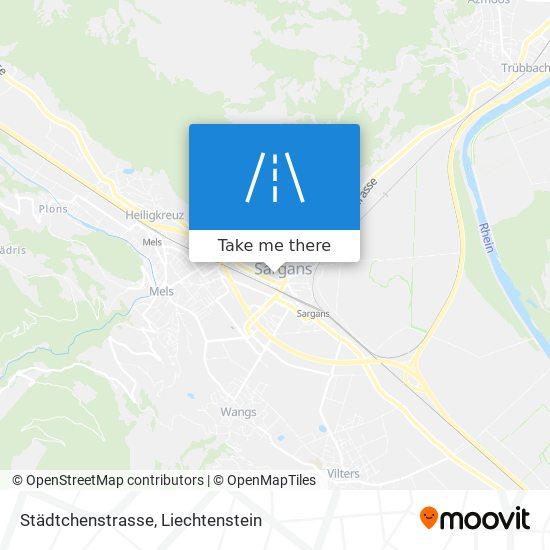 Städtchenstrasse map
