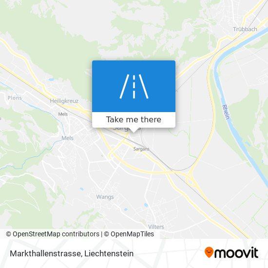 Markthallenstrasse map