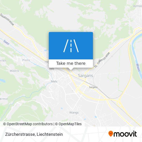 Zürcherstrasse map
