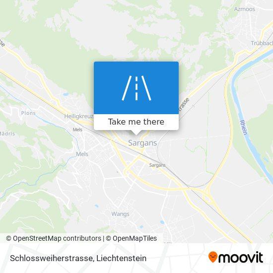 Schlossweiherstrasse map