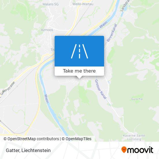 Gatter map
