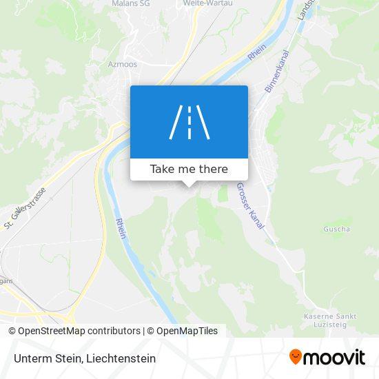 Unterm Stein map