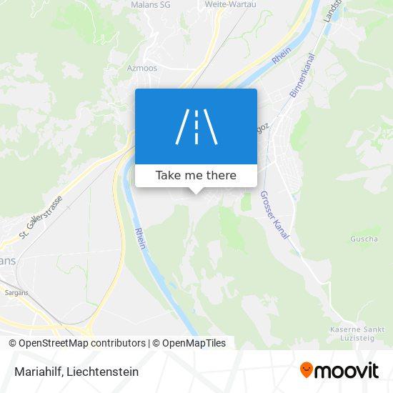 Mariahilf map