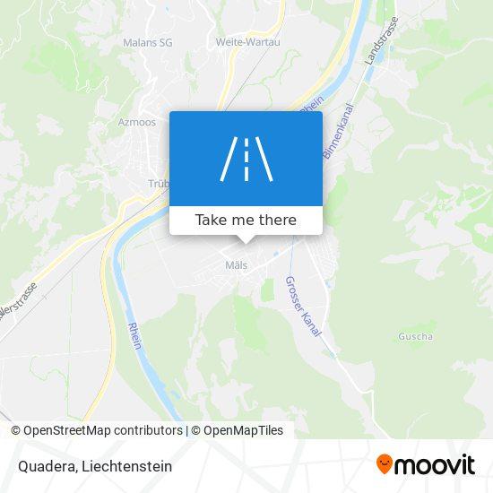 Quadera map