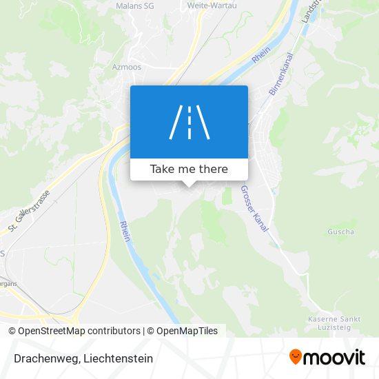 Drachenweg map