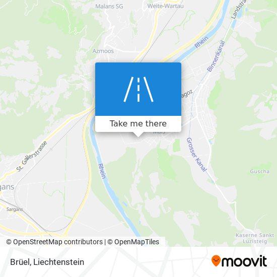 Brüel map
