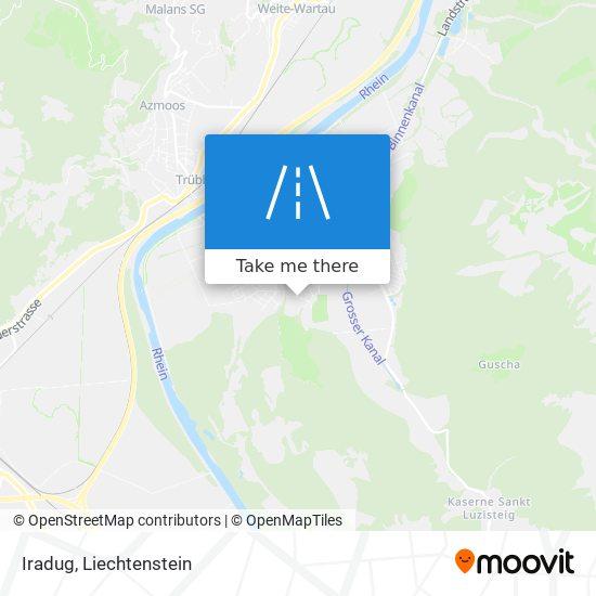 Iradug map