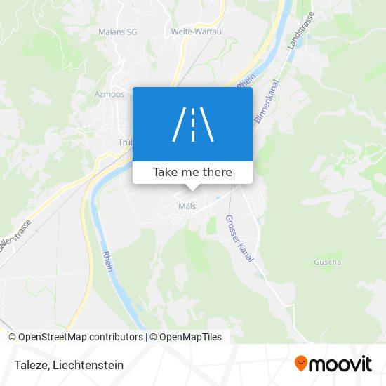 Taleze map