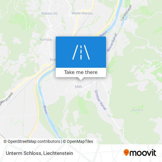 Unterm Schloss map