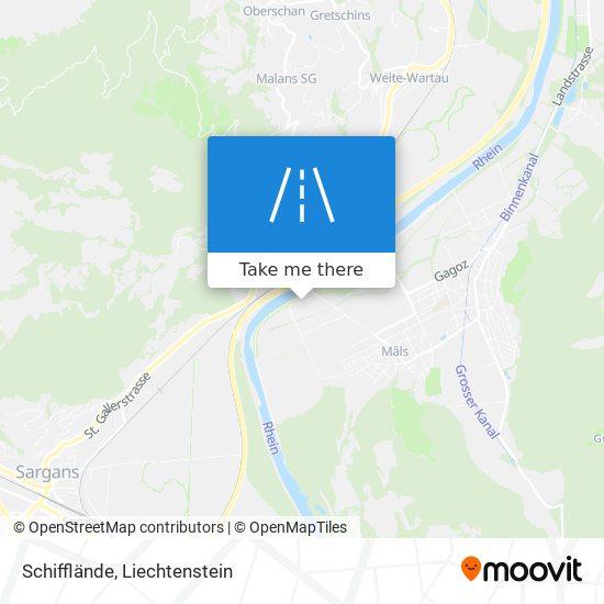 Schifflände map