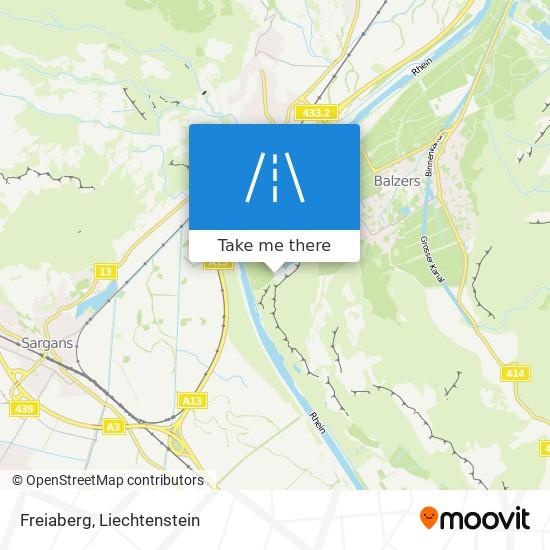 Freiaberg map