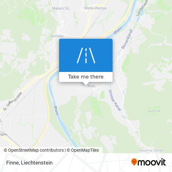Finne map