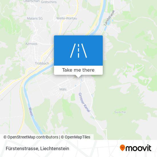 Fürstenstrasse map
