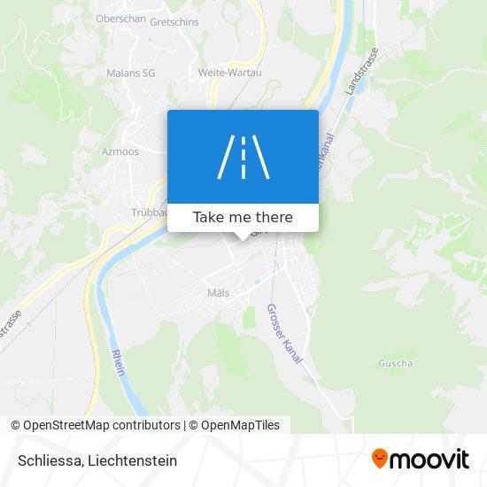 Schliessa map