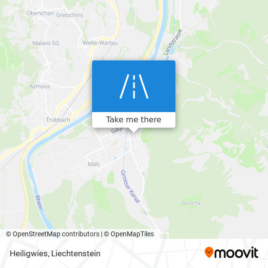 Heiligwies map