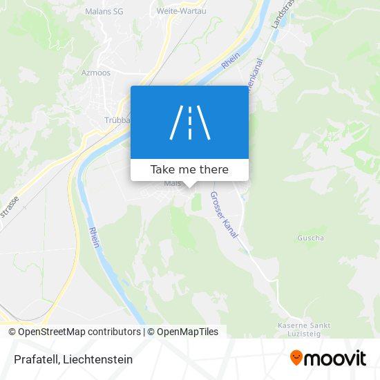 Prafatell map