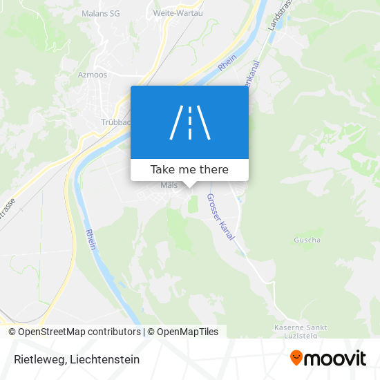 Rietleweg map