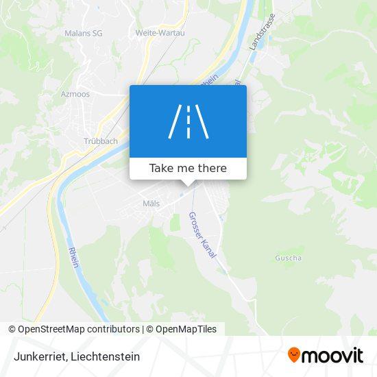 Junkerriet map