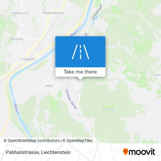 Palduinstrasse map