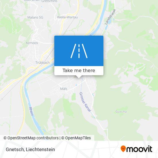 Gnetsch map