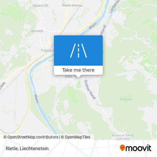 Rietle map